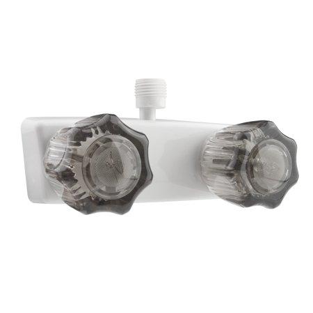 RV SHOWER FAUCET - WHITE