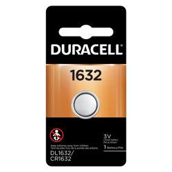 DURACELL 1632 LITHIUM COIN CELL 1PK CARD