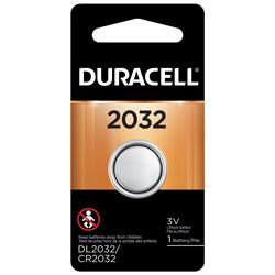 DURACELL 2032 3VLITHIUM COIN CELL 1PK CD
