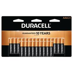 Duracell Coppertop AAA Alkaline Battery,24Pk