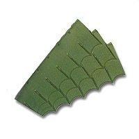 Emerald Edge 8748 Landscape Edging, 5 in H, High Density Polyethylene, Green