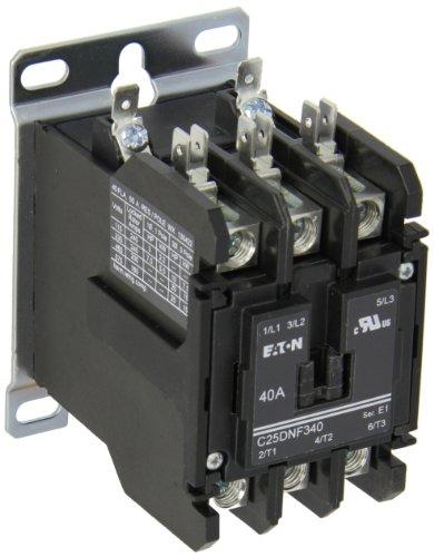 DEFINITE PURPOSE CONTACTOR RBM TYPE 154 3 POLE 40A 120V