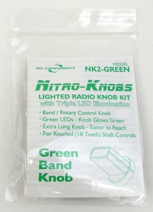 NITRO KNOB FOR BAND SWITCH (GREEN)