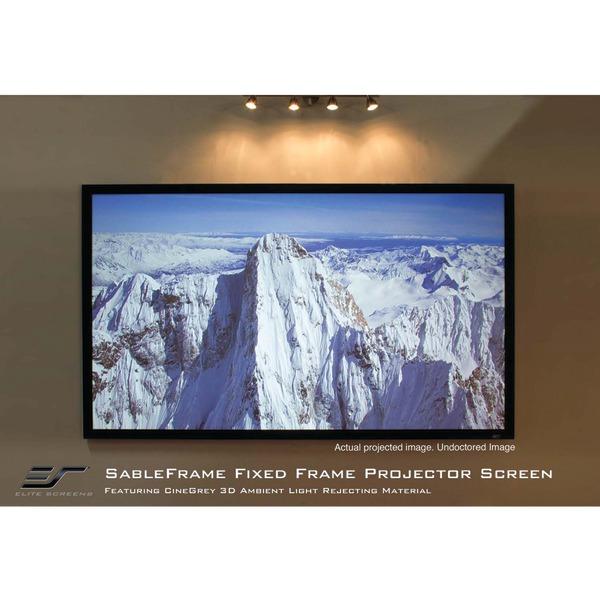 "Elite Screens ER120DHD3 16:9 Sable 3D Frame Screen (120"")"