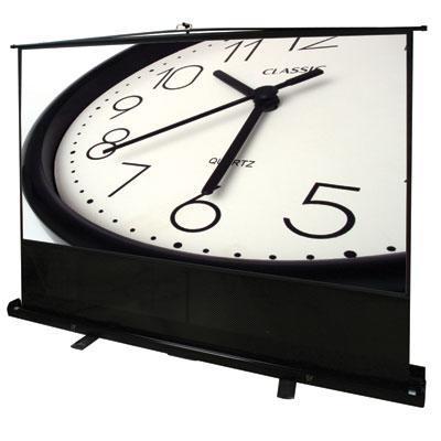 """16:9 ezCinema Series Floor-Standing Pull-Up Projector Screen (120"""")"""
