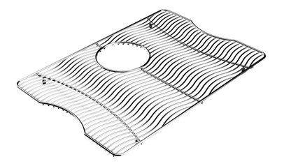 22 X 17 Bottom Grid Stainless Steel