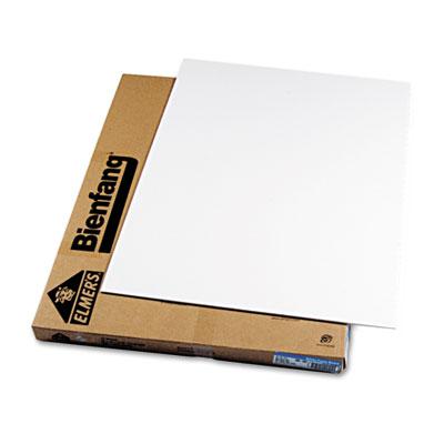 Polystyrene Foam Board, 30 x 40, White Surface and Core, 10/Carton