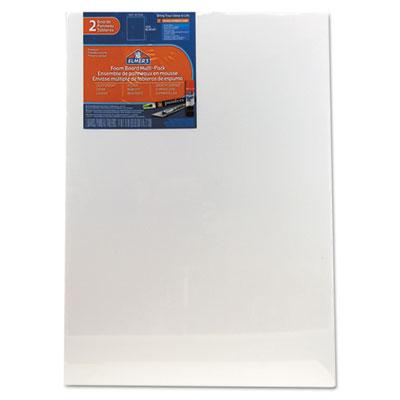 White Pre-Cut Foam Board Multi-Packs, 18 x 24, 2/PK