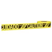 TAPE CTN/CUIDADO YELLOW 500FT