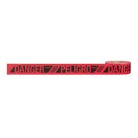 TAPE DANGER/PELIGRO RED 500FT