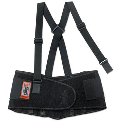ProFlex 2000SF High-Performance Spandex Back Support, Medium, Black