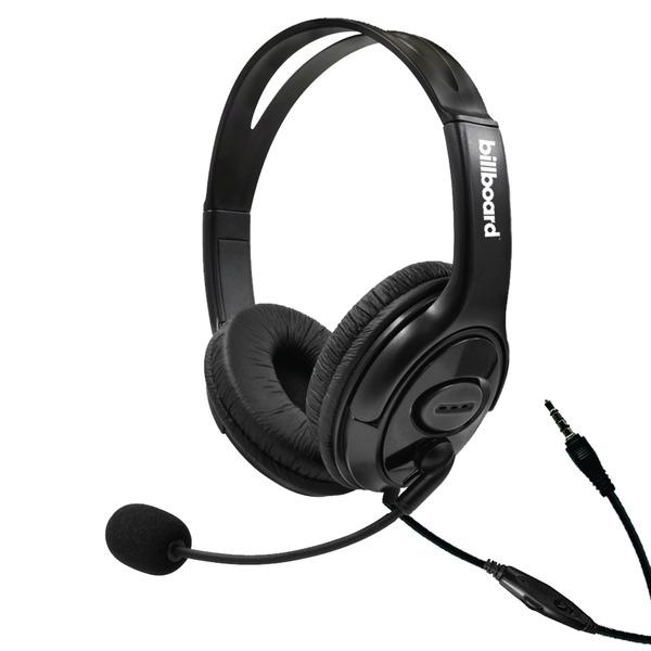 Gaming Headsets, Binaural, Over the Head, Black