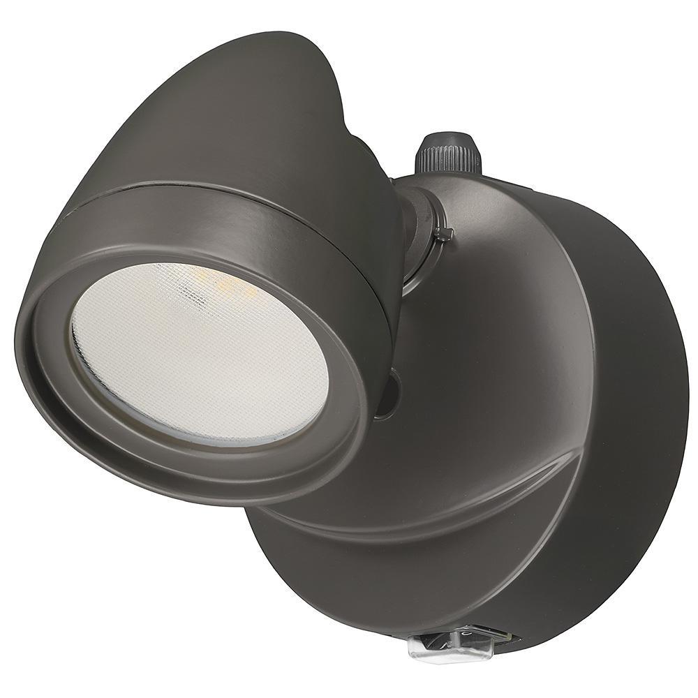 SECURITY LIGHT SNGL HD BRZ