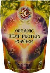 Earth Circle Organics Hemp Protein Powder  Organic  12 oz