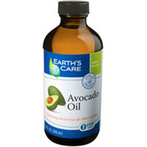 Earth's Care 100% Pure and Natural Avocado Oil (8 fl Oz)