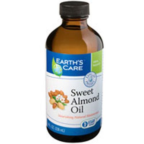 Earth's Care 100% Pure Sweet Almond Oil (8 fl Oz)