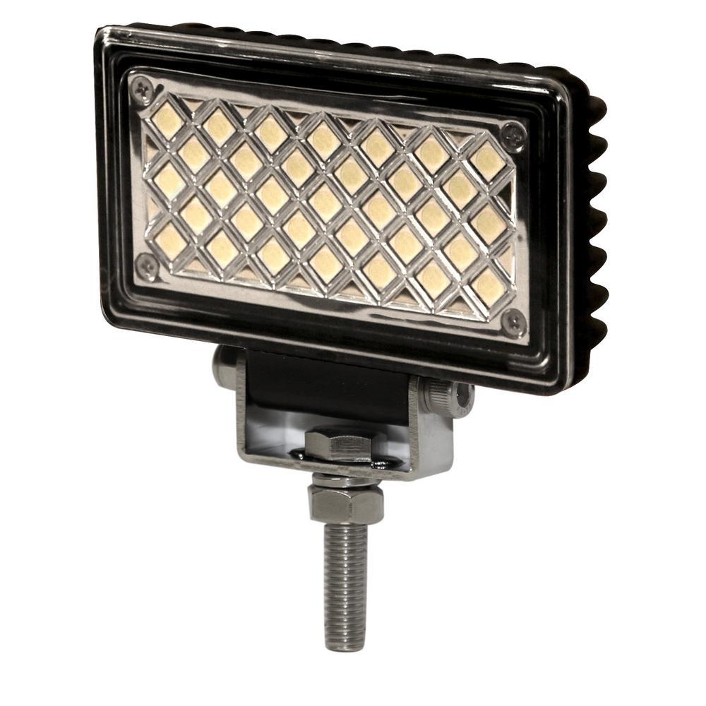 WORKLAMP: LED (33)/FLOOD BEAM/RECTANGLE/12-24VDC