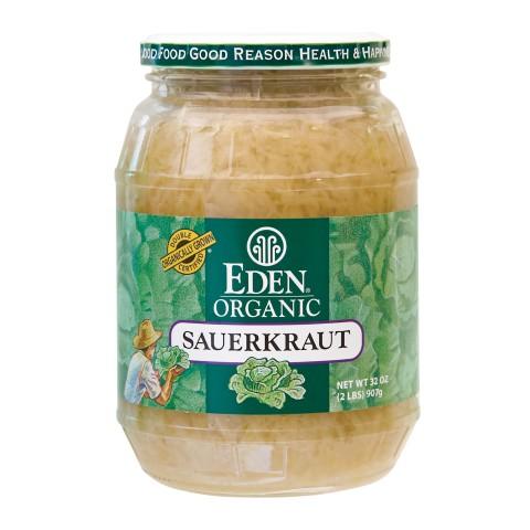 Eden Foods Sauerkraut Glass (12x32 Oz)
