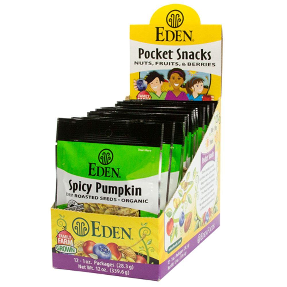 Eden Foods Seeds, Pumpkin, Spicy (12x1 OZ)
