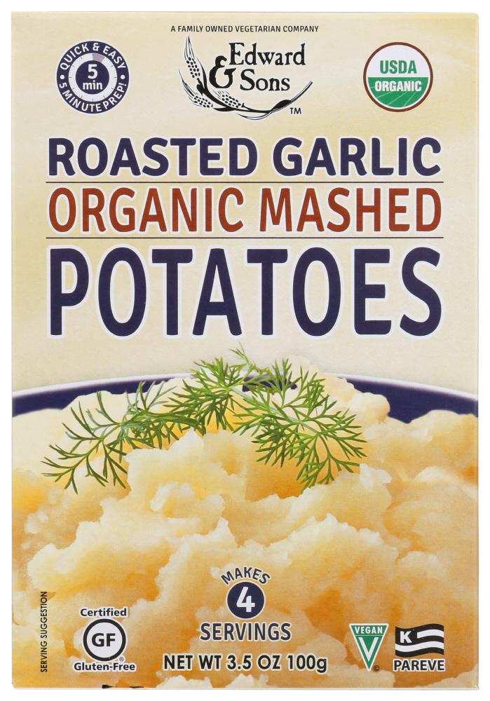 Edward & Sons Mashed Roasted Garlic Potatoes (6x35 Oz)