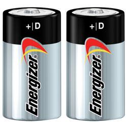 D/2Pk,Alkaline,Energizer Battery