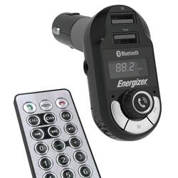 ENERGIZER FM TRANSMITTER DUAL USB REMOTE