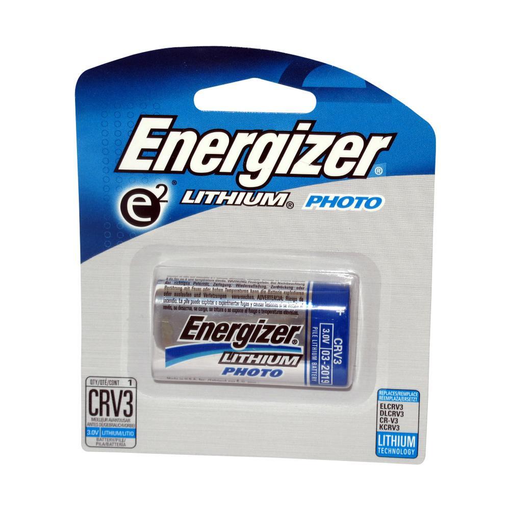 ENERGIZER LITHIUM CRV3 BP BATTERY