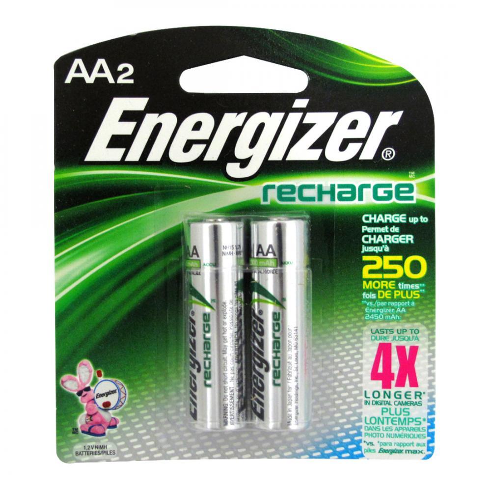 ENERGIZER AA2 REGARGE 2450MAH 4X NEW !