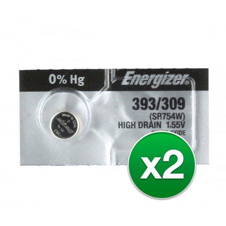 Energizer Battery 393 1.5 Volt High Drain Silver Oxide