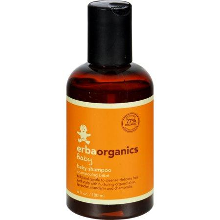 Erbaorganics Baby Shampoo (1x6 Oz)
