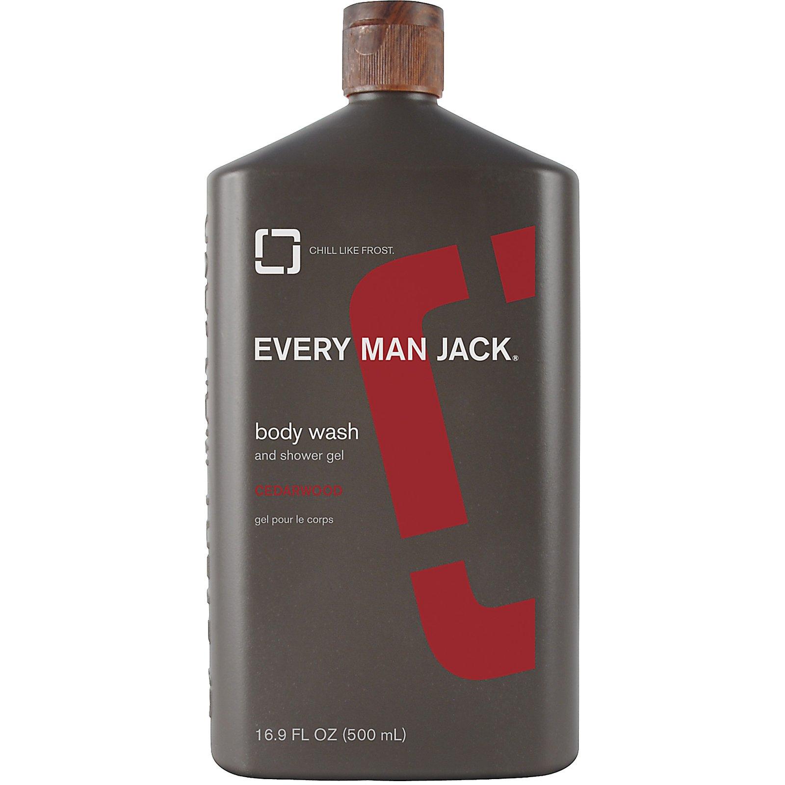 Every Man Jack Wash, Cedarwood (1x169 OZ)