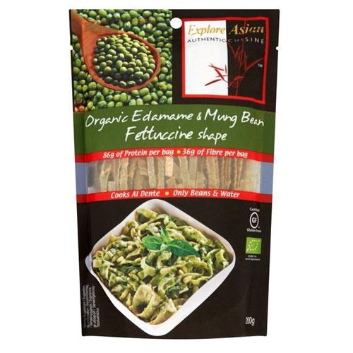 Explore Cuisine Organic Edamame & Mung Bean Fettuccine (6x8 OZ)