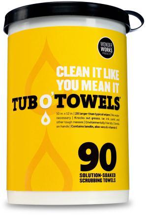 TW90 10X12 HEAVY DUTY TUB O TOWELS
