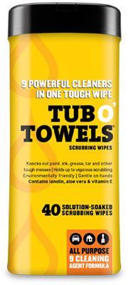 TW40 7X8 40CT HEAVY DUTY TUB O TOWELS