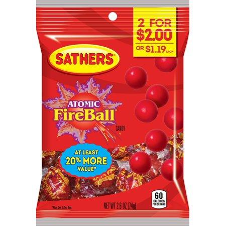 CANDY ATOMIC FIREBALLS 2.6OZ