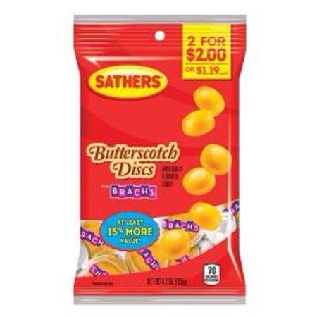 CANDY BUTTERSCOTH DISCS 4.2OZ