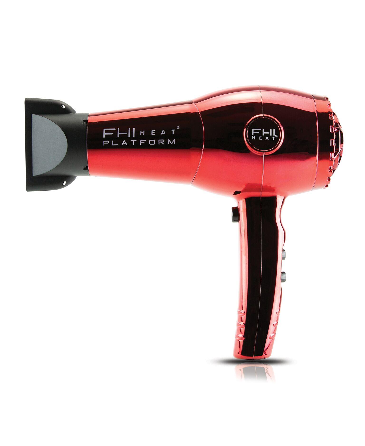 FHI HEAT PF7005RDC RED CHROME HAIR DRYER NANO LITE PRO 1900