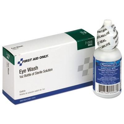 24 Unit ANSI Class A+ Refill, Eyewash, 1 oz