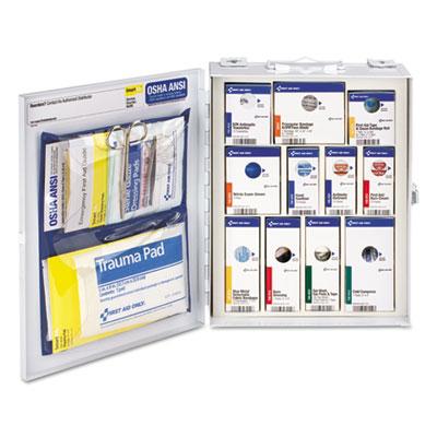 ANSI 2015 SmartCompliance Food Service Cabinet w/o Medication,25 People,94 Piece