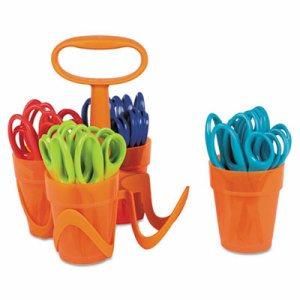 "Scissors, 5"" Length, 1 3/5"" Cut, Classpack, Blunt Tip, Assorted"
