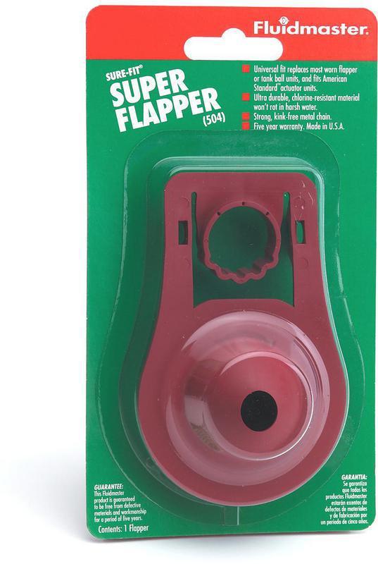 504 RED 1PC 5YR WARR FLAPPER