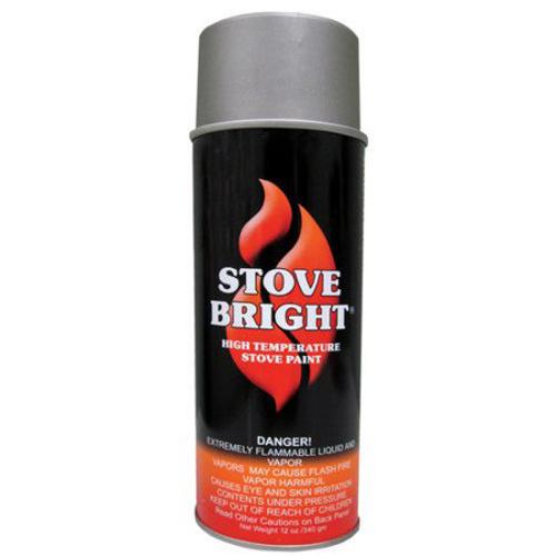 Metallic Gray Stovebright Stove Paint