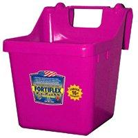 Fortex/Fortiflex 1301612 Heavy Duty Bucket Feeder, 16 qt Capacity, Fortalloy Rubber Polymer Alloy