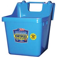 Fortex/Fortiflex 1301640 Heavy Duty Bucket Feeder, 16 qt Capacity, Fortalloy Rubber Polymer Alloy