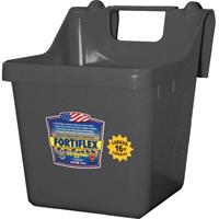 Fortex/Fortiflex 1301601 Heavy Duty Bucket Feeder, 16 qt Capacity, Fortalloy Rubber Polymer Alloy