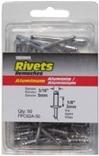 1/8 Aluminum White Rivet