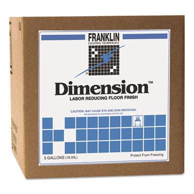Dimension Labor Reducing Floor Finish, 5 gal Dispenser Box
