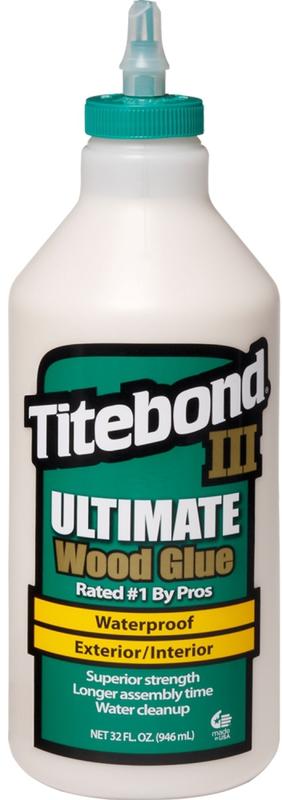 Quart Titebond Iii Wood Glue