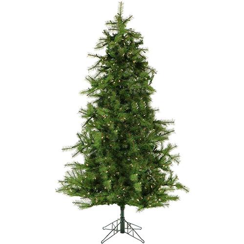Christmas Time 7.0' Colorado Pine, Green Christmas Tree,ClrLEDLght,EZCnt