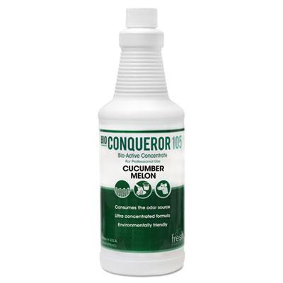 Bio-C 105 Odor Counteractant Concentrate, Cucumber Melon, 1gal, 12/Carton